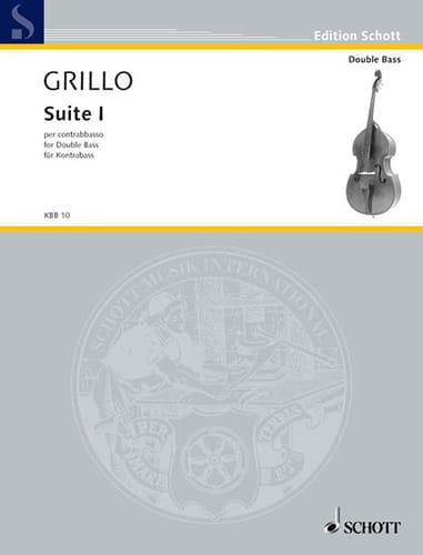 Suite n° 1 - Contrebasse - Ferdinand Grillo - laflutedepan.com