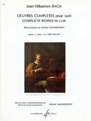 BACH - Complete works for lute - Volume 1: Suites n ° 1 and 2 - Partition - di-arezzo.co.uk