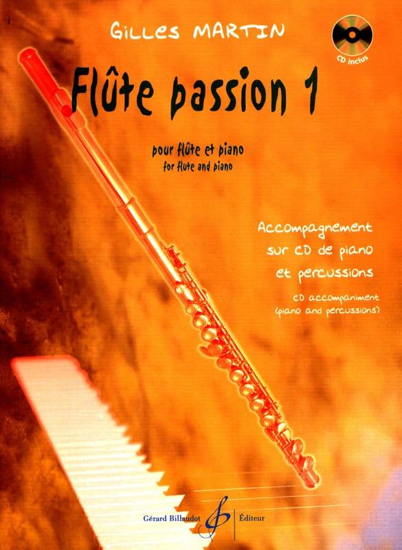 Flûte Passion 1 - Gilles Martin - Partition - laflutedepan.com