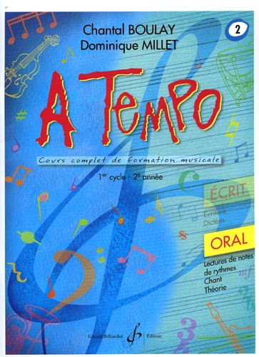 BOULAY - MILLET - A Tempo Volume 2 - Oral - Partition - di-arezzo.co.uk
