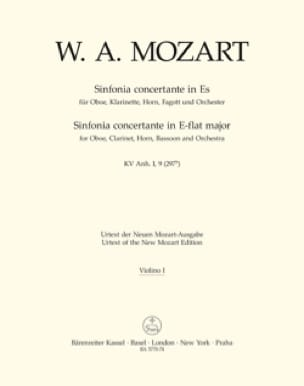 MOZART - Sinfonia Concertante Es-Dur KV 297b - Set - Partition - di-arezzo.co.uk