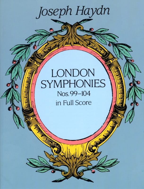 HAYDN - London Symphonies N ° 99 to 104 - Partition - di-arezzo.co.uk