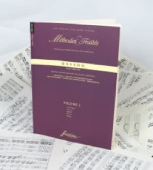 - Methods and Treaties Volume 1 - Bassoon - Partition - di-arezzo.com