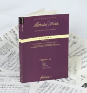 - Methods and Treaties Volume 3 - Bassoon - Partition - di-arezzo.com