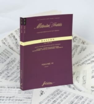 - Methods and Treaties Volume 4 - Bassoon - Partition - di-arezzo.com