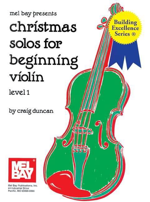 Christmas Solos for Beginning Violon - Level 1 - laflutedepan.com