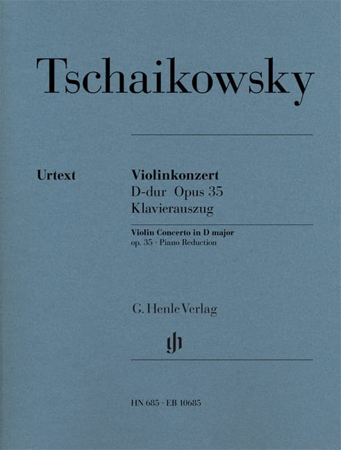 TCHAIKOVSKY - Violinkonzert D-hard op. 35 - Partition - di-arezzo.com