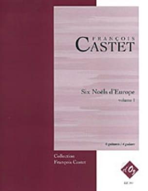 6 Noëls D' Europe - Volume 1 - François Castet - laflutedepan.com