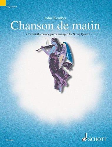 Chanson De Matin - John Kember - Partition - laflutedepan.com