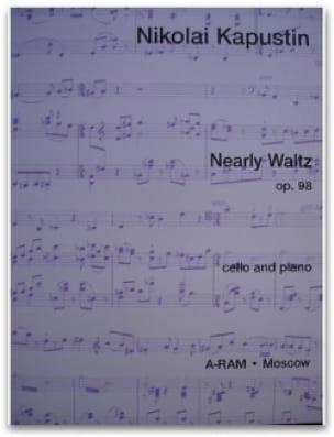 Nearly Waltz op. 98 - Nikolai Kapustin - Partition - laflutedepan.com
