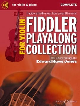 Jones Edward Huws - The Fiddler Playalong Violin Collection 1 - Partition - di-arezzo.co.uk
