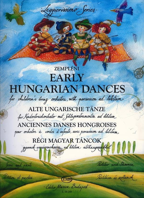 Early Hungarian Dances For Children's Orchestra - laflutedepan.com