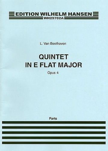Quintet in E flat major op. 4 - Parts - BEETHOVEN - laflutedepan.com