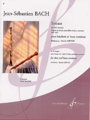 BACH - Sonata in E flat major - Oboe - Partition - di-arezzo.com