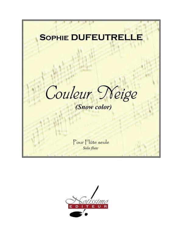 Sophie Dufeutrelle - Color nieve - Partition - di-arezzo.es