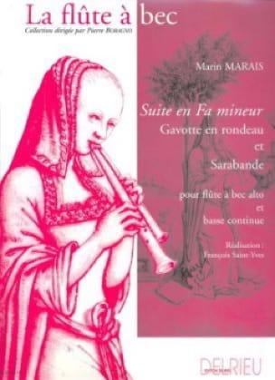 Marin Marais - Suite in F minor - Partition - di-arezzo.co.uk