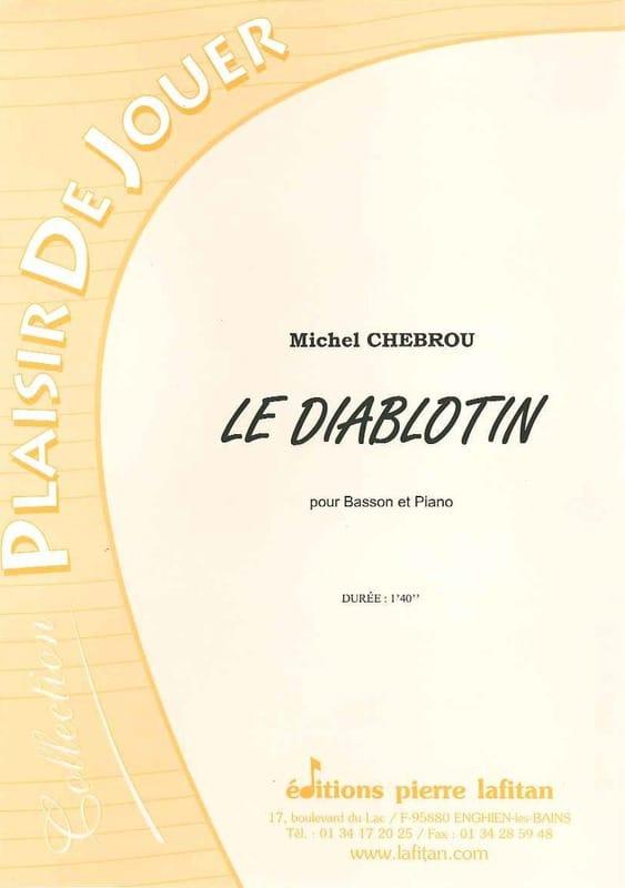 Le Diablotin - Michel Chebrou - Partition - Basson - laflutedepan.com