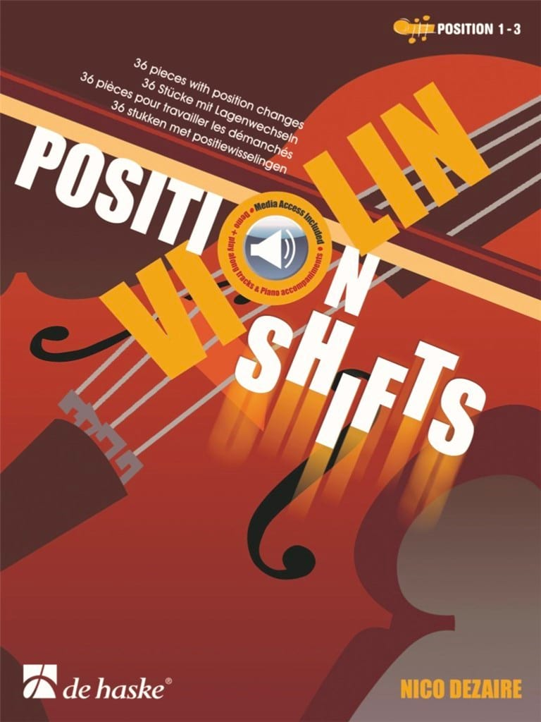 Nico Dezaire - Position Shifts - Violon - Partition - di-arezzo.fr