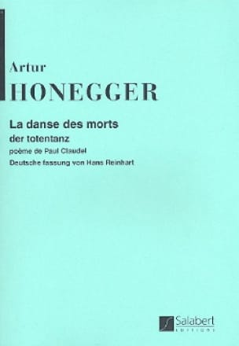 Arthur Honegger - The Dance of the Dead - Conductor - Partition - di-arezzo.co.uk