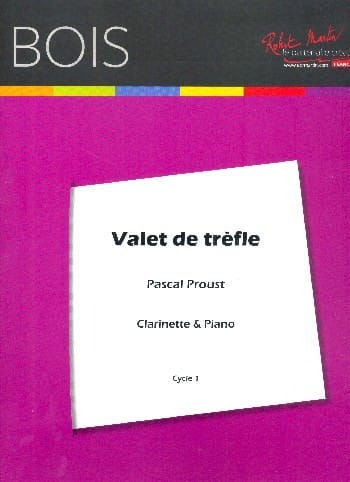 Pascal Proust - Valet of clover - Partition - di-arezzo.com