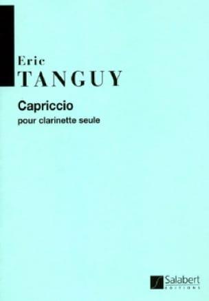 Capriccio - Eric Tanguy - Partition - Clarinette - laflutedepan.com