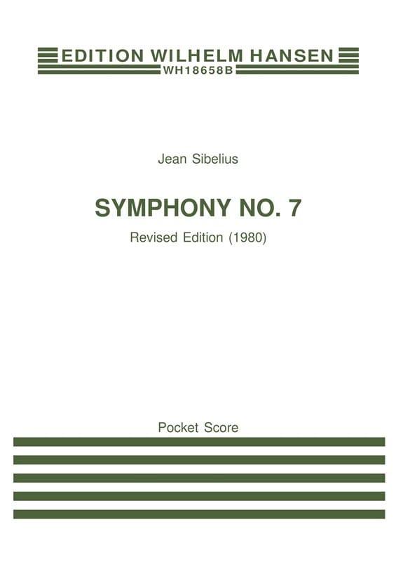 Jean Sibelius - Symphony No. 7 op. 105 - Partitur - Partition - di-arezzo.co.uk