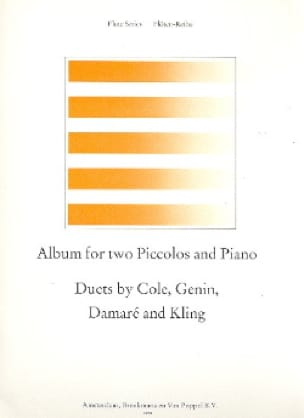 - Album for 2 Piccolos and piano - Partition - di-arezzo.co.uk