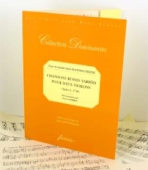 Chansons Russes Variées Op.2 1796 - laflutedepan.com