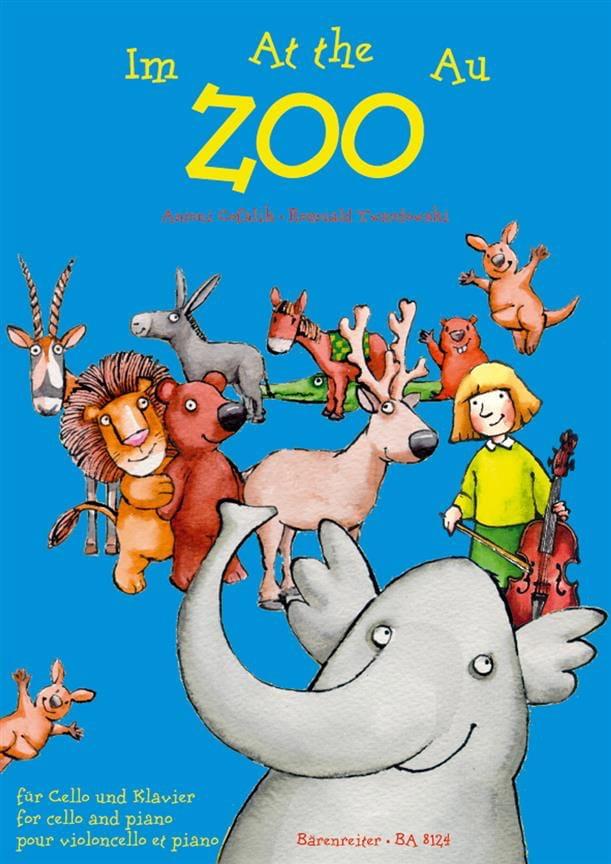 At the Zoo - Cello - laflutedepan.com