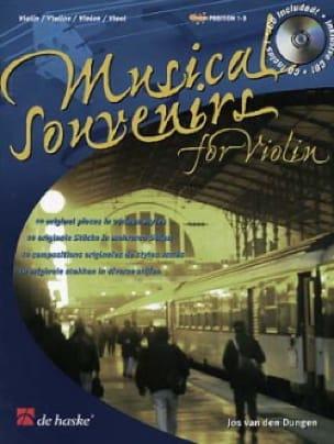 Musical Souvenirs - Violon - Jos van den Dungen - laflutedepan.com