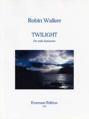 Twilight - Robin Walker - Partition - Basson - laflutedepan.com