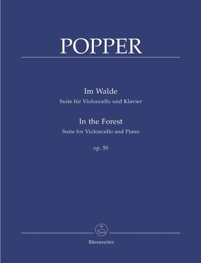 Im Walde op. 50 - David Popper - Partition - laflutedepan.com