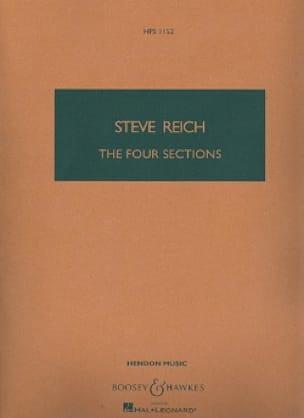 4 Sections - Steve Reich - Partition - Petit format - laflutedepan.com