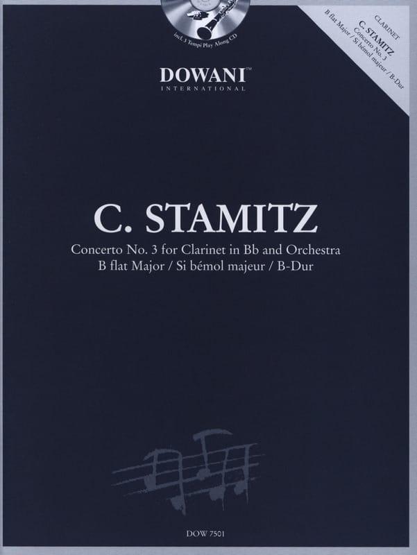 Carl Stamitz - Clarinet Concerto No. 3 in Bb maj. - Partition - di-arezzo.co.uk