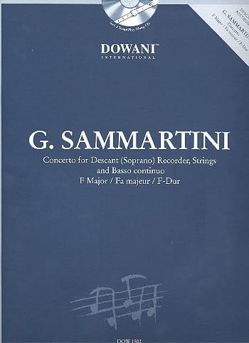 Concerto pour flûte à bec sopr. en fa maj. - laflutedepan.com