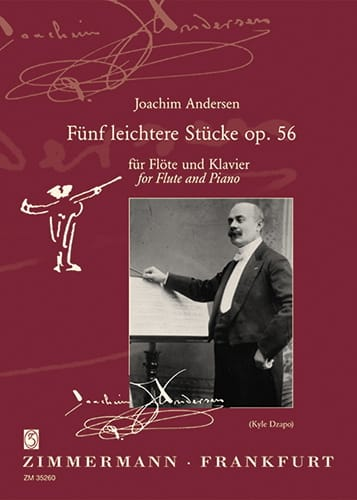 Joachim Andersen - 5 Leichtere Stücke op. 56 - Partition - di-arezzo.fr