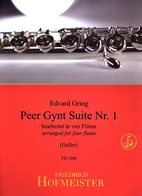 Peer Gynt Suite Nr. 1 - 4 Flöten - Edvard Grieg - laflutedepan.com