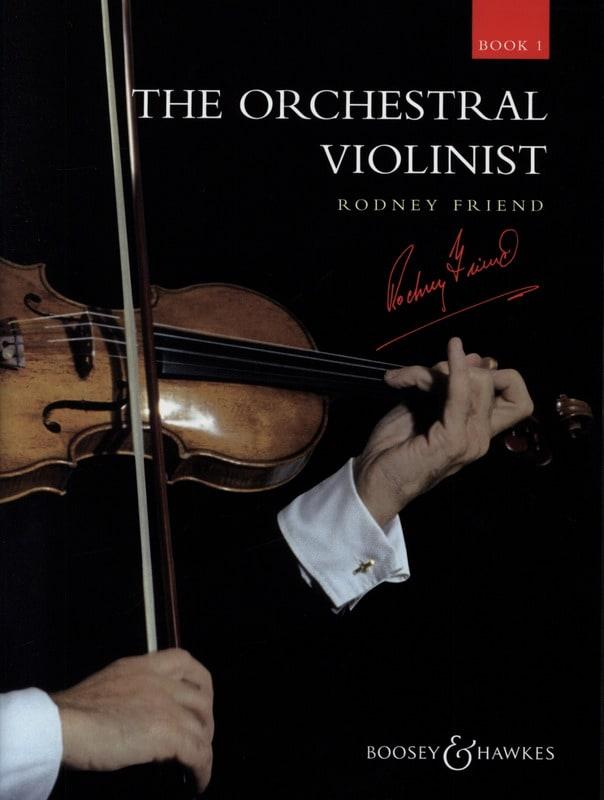 The Orchestral Violonist Book 1 - Rodney Friend - laflutedepan.com