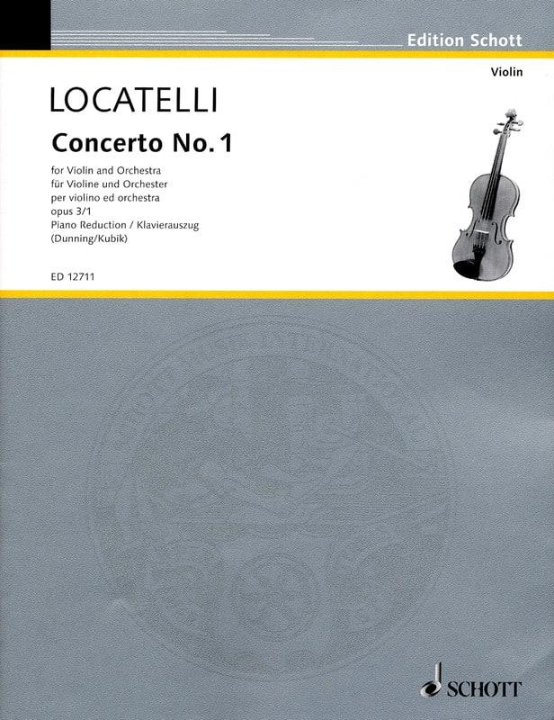 Concerto op. 3 n° 1 en ré majeur - LOCATELLI - laflutedepan.com