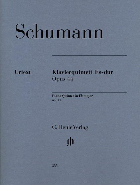 SCHUMANN - Klavierquintette Es-Dur op. 44 - Stimmen - Partition - di-arezzo.com