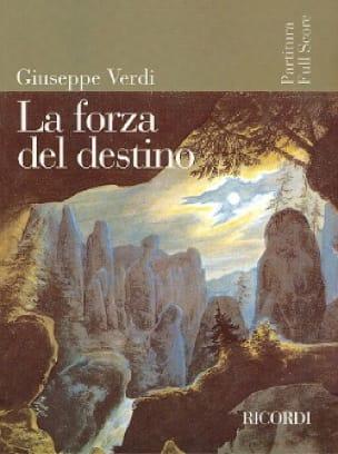 VERDI - The Forza Del Destino - Partition - di-arezzo.co.uk