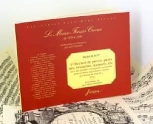 1er Recueil de pièces, petits airs, brunettes, menuets, etc. - laflutedepan.com
