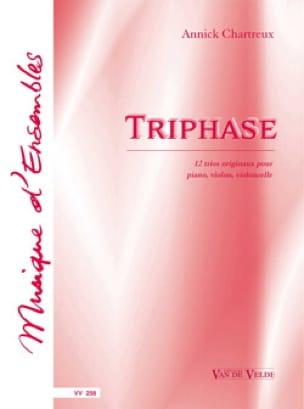 Triphase - Annick Chartreux - Partition - Trios - laflutedepan.com