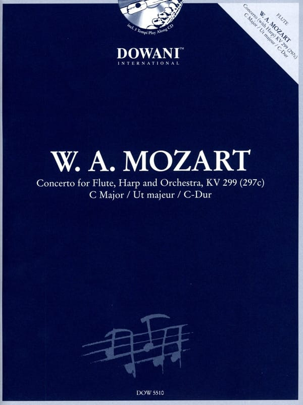 MOZART - Concerto in C major KV 299 297c - Partition - di-arezzo.co.uk