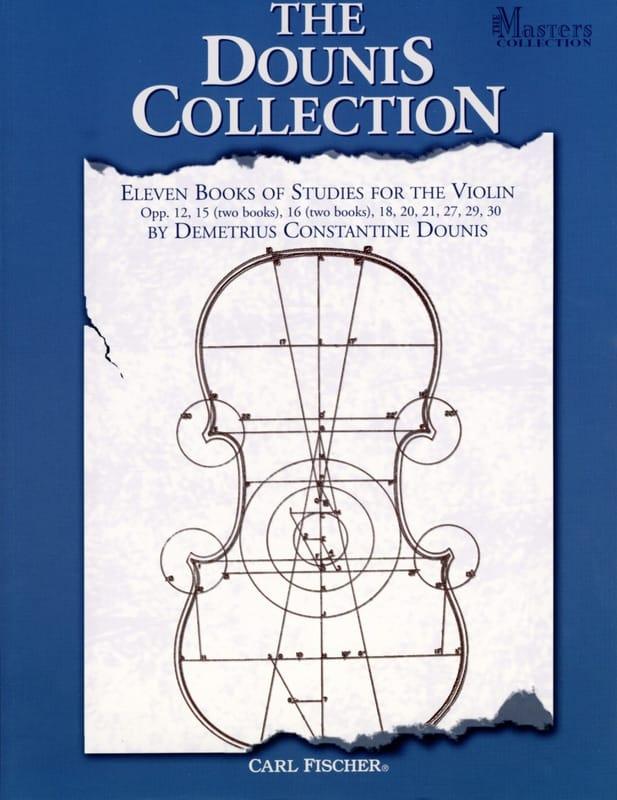 The Dounis Collection - D. C. Dounis - Partition - laflutedepan.com
