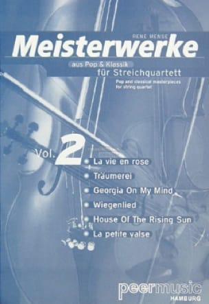 Meisterwerke Fur Streichquartett Volume 2 - laflutedepan.com