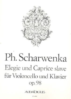 Elégie et Caprice Slave Op.98 - Philipp Scharwenka - laflutedepan.com