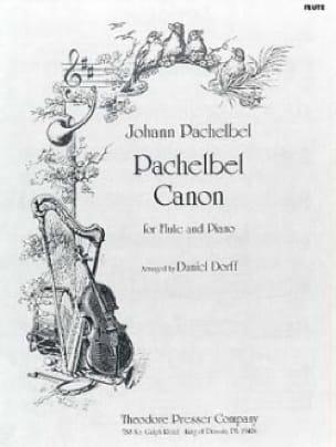 Canon - Flûte piano - PACHELBEL - Partition - laflutedepan.com