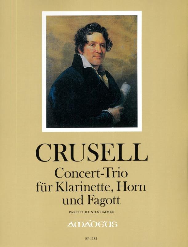 Concert-Trio - Bernhard Henrik Crusell - Partition - laflutedepan.com