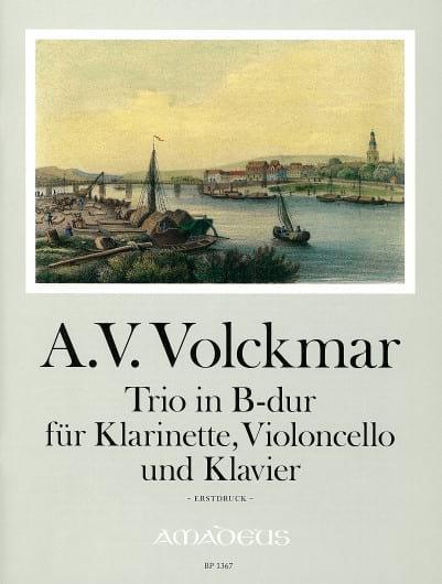 Trio in B-Dur majeur -Klarinette, VIoloncello und Klavier - laflutedepan.com